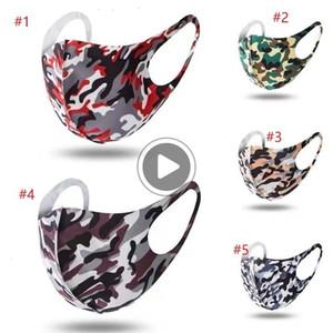 Fa Mout Mask Cotton Schutz Tarnung Wasale Anti-Staub Reatale Außen Cyling Icycle Partei Masken Julie