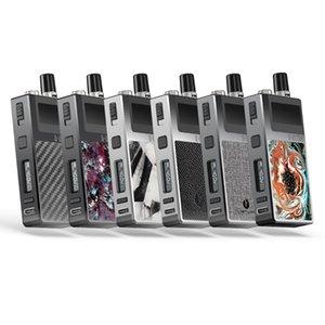 нам местный склад Lostvape Q Ультра Aio Kit Оригинальные электронные сигареты 4мл Top Регулировка потока воздуха Tank 40W 1600mAh с 2 дополнительными Катушки Vape Kits