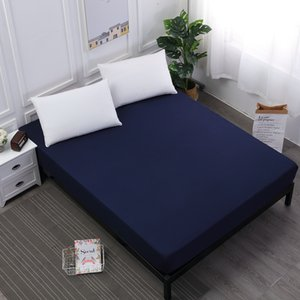 New Bed Mattress Cover Waterproof Mattress Protector Pad Fitted Sheet Separated Water Bed Linens with Elastic Urine Care Pad