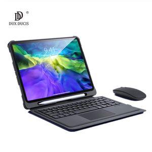 Funda de teclado inalámbrico para iPad Pro 11 2020 2018 iPad Air 3 10.5 10.2 10.9 2020 9.7 Cubierta del teclado táctil de la estela del sueño automático plegable.