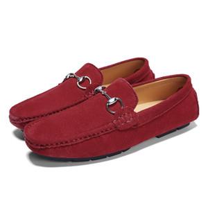 Mens dress shoes chains knot shoes gentlemen travel walk shoe casual comfort breath shoes for Men zy956