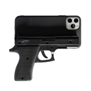 Capa de telefone de luxo 3D engraçado Gun para iphone 11 Pro Max X 7 8 Plus Xr Xs max Silicone pistola de brinquedo tampa do telefone