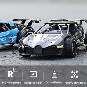 15km h Racing Remote 2.4G Car Control Speed Gift Car Alloy Road 1:16 High Rechargeable Drift Vehicle RC Off Children 4Channel Friqn
