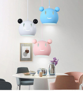 Modern Cartoon Pendant Light Shape Hanging Lamp for Living Room Baby Children Room Bedroom Home Decor Lighting Fixtures