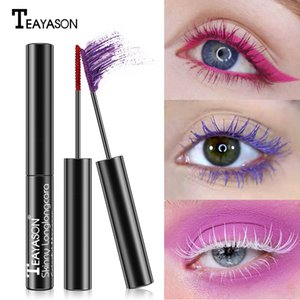 2020 mascara Eyelash color mascara grape purple milk tea color diamond mascara lengthening eyelash glue