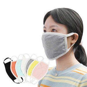 Cycling Wearing Anti-Dust Cotton Mouth Face Mask PM 2.5 Mask Unisex Man Woman adult Black White Fashion free shipping