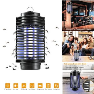 New Electronic Mosquito Killer Insect Killer Control Bug Zapper Trap Photocatalyst Fly Zapper UV Night Light Trap Lamp for Bedroom N