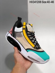 Top high quality AJ34 mens basketball shoes 34 XXXIV Digital Pink AJ 34 trainers Athletic Store up Free Shipping size 7-12