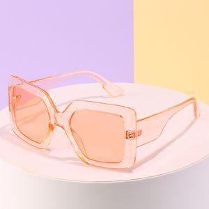 2020 Shades Óculos Oversized Cutie Feminino Big Marca Vintage Frame quadrado Mulheres Grande Who S271 Sunglasses Projeto Sun Moda Gqtwn Cnsmj