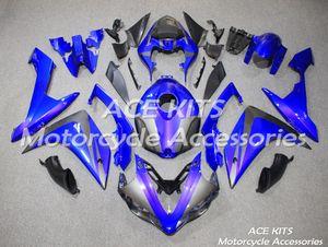 3 cadeaux complet carénages pour Yamaha YZF 1000 R1 2007 2008 YZF Injection Plastique Pierre Moto Carénage Kit noir bleu de style A2
