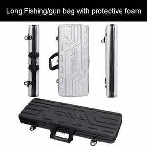 high quality Tool case long case outdoors luggage Fishing bag gun box plastic toolbox safety box suitcase with foam lining TlfS#