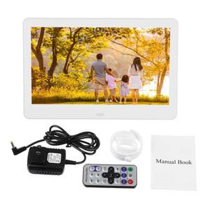 10 بوصة HD إطار الصورة الرقمية الالكترونية صورة اغاني فيلم Mult، لميديا بلاير LCD عرض الكريستال السائل إطار الصورة
