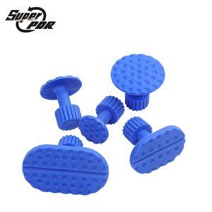 Super PDR Dent Repair Tools 5pcs blue glue Tabs use for glue puller Slide hammer Dent Removal Paintless Puller Tabs