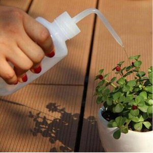 Plastic Flower Watering Equipments Flowes Bowls Sprayer With Curved Mouth Lid Watering Gardening Transparent Succulent Plant Wy594