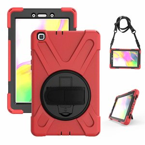 "Shockproof Defender Case Best Armor Stand Cover For iPad mini45 mini123 samsung Tab A 8.4 T307 Active 2 8"" T390 T395 T397 8"" T290 P200 T387"