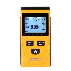 Qualità LCD digitale rivelatore di radiazione elettromagnetica Meter dosimetro del tester del contatore incorporato radiazioni elettromagnetiche del sensore T8190619