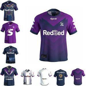 arriba tormenta de Melbourne 2020 ANZAC Rugby jerseys 2021 MELBOURNE rugby Jersey Tailandia camisas Tamaño: S ---- 5XL