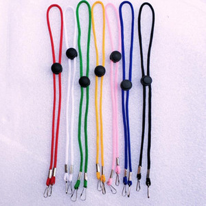 Mask Lanyard Anti-loss Ear Holder Rope Adjustable Masks Hang Rope Multifunction Lanyard Face Mask Straps Hang On Neck Rope GWE1616