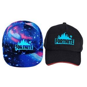 Fortnite erkek ve kadın gece Fortnite kap düz ağzına beyzbol şapkası yıldızlı yıldızlı gökyüzü Avrupa kap