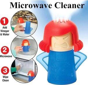 Microwave Cleaner Peam Steam Angry Mama легко чистые дезинфекции бытовые кухонные инструменты для уборки безопасного и быстро дешево в наличии Бесплатная доставка