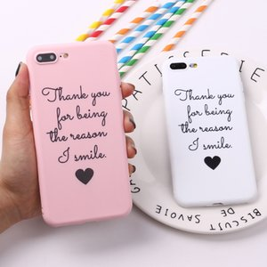 Creative Positive Energy Text For IPhone11 XR 7 8 Mobile Phone Case Protective Cover Matte Soft Shell SE