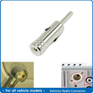 Car Vehicles Radio Stereo Iso To Din Aerial Antenna Mast Adapter Connector Plug Automobile Internal Accessories