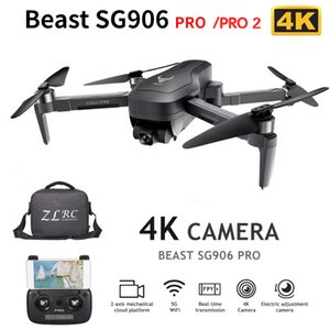 SG906 PRO PRO 2 PGPS RC Drone with Camera 4K 5G Wifi 2-axis Gimbal 25mins Flight Time Brushless Quadcopter Professional RC Dron T200916