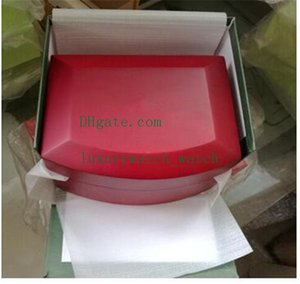 Beste Qualität New Offshore-Uhr Original Kasten-Papiere Zertifikat Red Wood Kästen Handtasche Geschenk für 15400 15500 15710 26703 26470 Uhren Boxen