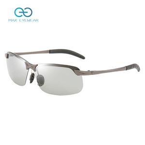 Chameleon Photochromic Sunglasses Men Women Polarized Driving Fishing PC Frame Sunglasses Day Night Vision UV400