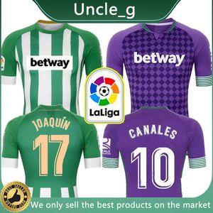 20-21 Real Betis Football Maillots JOAQUIN Loren Boudebouz MANDI BARTRA Tello GARCIA CANALES Fekir chemises de football hommes + kids kit uniforme ensemble