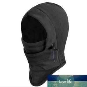 Fleece Hat Hooded Neck Warmer Cycling Face Mask Outdoor Winter Sport Face Mask for Men Cycling Masked Cap