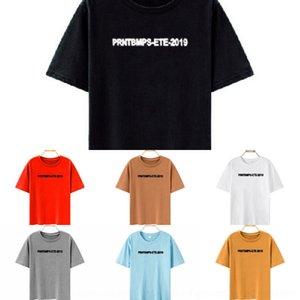 AhlDz 3T6nN Underpants kısa kollu külot-shirt Yaz yeni mektup Beyaz öğrenci gevşek Kore tarzı Kadın 2020 underpantsins süper pop