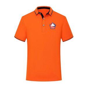 Lille LOSC verão 2020 camisa de algodão de moda futebol polo homens camisa de manga curta homens futebol lapela polo polo camisa do treinamento Homens
