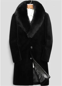 20FW hiver Mens Designer Vestes Hombres chaud coupe-vent longue Laine Outerwears Manteaux Noir Thicken Manteau