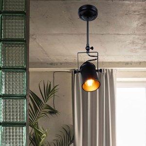 ciondolo nuovo industriali Pendant Light Vintage Loft faretti ciondolo americano Lamp Restaurant lampada LED cafe bar decorazione