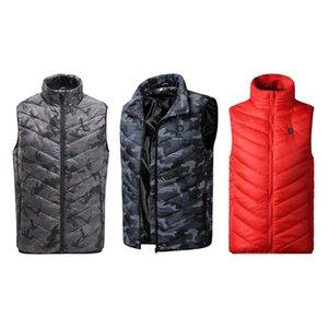 Durevole Riscaldamento Vest texture delicata resistente all'uso Equitazione Sci di ricarica USB Warm Vest riscaldata Abbigliamento elettrico