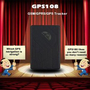 Dispositivo impermeabile GPS GPS108 TK108 Vehicle Tracking per con il movimento / Over Speed / sensore / anti-manomissione Allarme Locator yYGa #