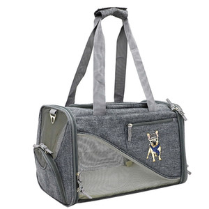 Airline Approved Soft-Sided Dog Travel Tote Hand Bag Pet car Carrier Travel pet dog carrier Cat little box Dog bag