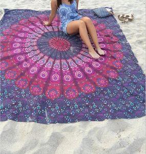 eOFKw 2020 الساخن بيع مستطيل الصيف المطبوعة 2020 الساخن بيع الشاطئ منشفة الشاطئ مستطيلة الصيف المطبوعة منشفة شال شال