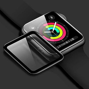 3D Curved Tempered Glass 9H Protective Guard Film Screen Protector or Apple Watch Series 5 4 3 2 1 40mm 44mm 38mm 42mm without retail