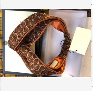 Diseñador elástico turbante vendas de seda para las mujeres 2020 Nueva carta de la cabeza de lujo bufanda Cruz Turban bandas para el cabello bufanda principal Streetwear regalo