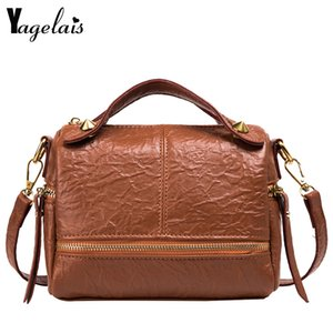 Korean Style Women Handbags Female Briefcase Unique Crocodile Print Ladies Shoulder Messenger Bags 2020 Red Black Khaki