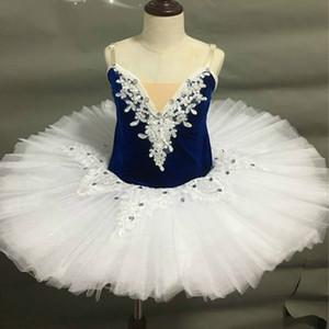 Professional Ballet Tutus For Child Kids Adult Women Swan Lake Dance Costume Ballet Pancake Tutu Ballerina Figure Skating Dress