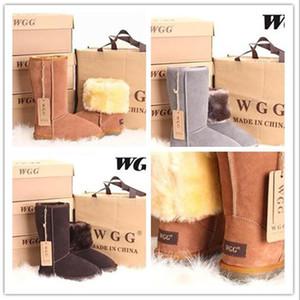 Hot vendre Ausg style classique hautes bottes de neige 5815 femmes garder démarrage à chaud des chaussures des femmes bottes d'hiver Livraison gratuite 17 couleurs