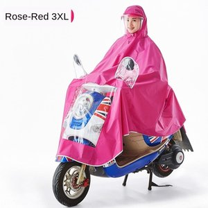 Thick Poncho Riding Car Su91a Dtu7w Female Adult Battery Single Motorcycle Extra Large Electric Vehicle Male Protective Mask