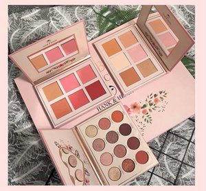 Makeup Set 12 Colors Eyeshadow Palette+6 Colors Highlighter Palette+6 Cheek Blusher Palette Shimmer Matte Glitter Pallete