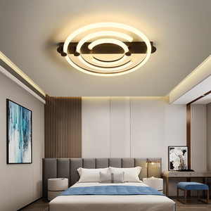 Nordic bedroom lamp warm and romantic creative light  thin style led ceiling lamp modern simple children's room lighting RW443