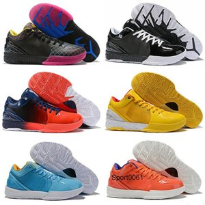 Classic MAMBA Zoom Mamba Day IV 4 Protro Draft Day Hornets Carpe Diem Del Sol Kids Sports Basketball Shoes Mens ZK4 4s Sneakers