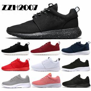 Tanjun Siyah Beyaz Erkek Kadın Koşu ayakkabıları 2020 Londra Olimpiyat Run Ayakkabı Açık Erkek Spor Ayakkabı Eğitmeni Sneakers 36-45 çalıştırır