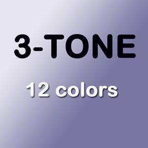 (بدون عسلي) (2 قطعة / صندوق) / مربع الطازجة / العدسات اللاصقة صناديق الصناديق الطازجة / يمكن أن تجعل 12colors / شحن مجاني